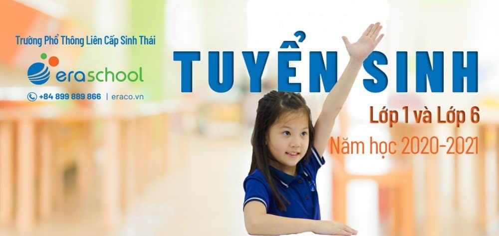 Banner Tuyen Sinh Eraschool 27.3 1280x606px