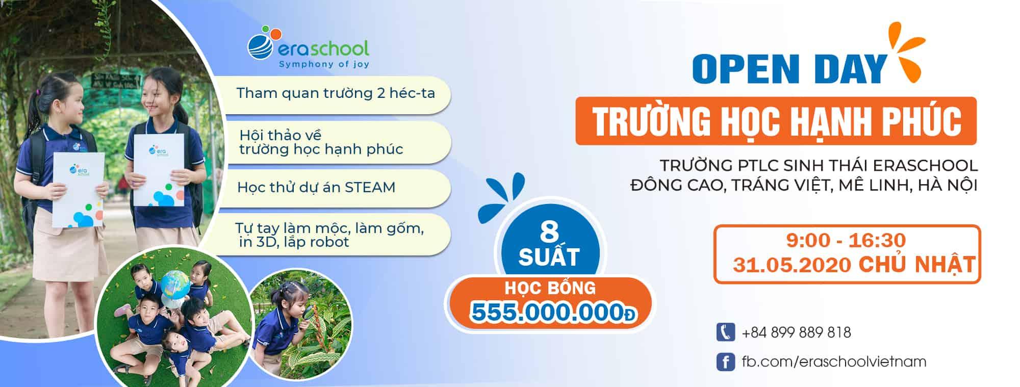 Banner Website Trường Học Hạnh Phúc